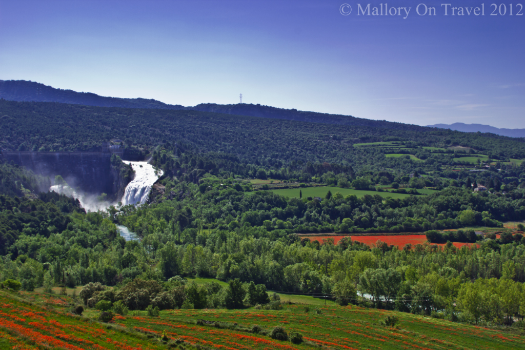 Releasing the floodgates of a Catalonian dam, Spain on Mallory on Travel adventure photography