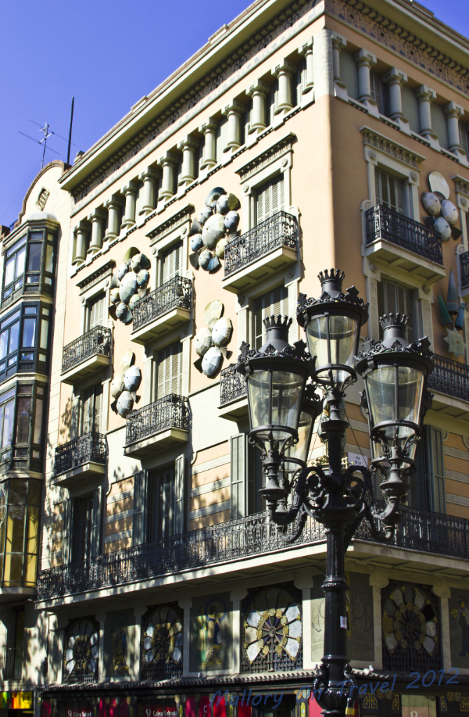 Architecture and design in the Catalan capital Barcelona, Spain on Mallory on Travel adventure photography