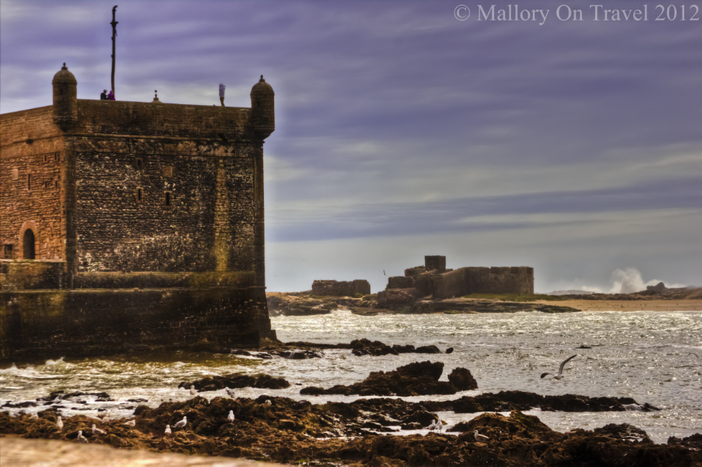 Essaouira harbour protected by its ramparts on the Moroccan Atlantic coast on Mallory on Travel adventure photography