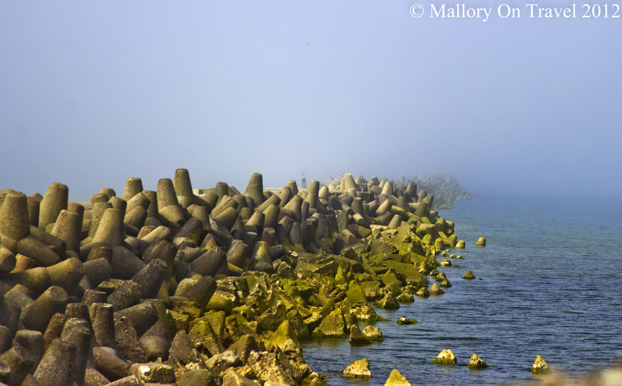 The breakwater at Karosta, Liepaja in the Baltic Sea, Latvia  on Mallory on Travel, adventure, adventure travel, photography