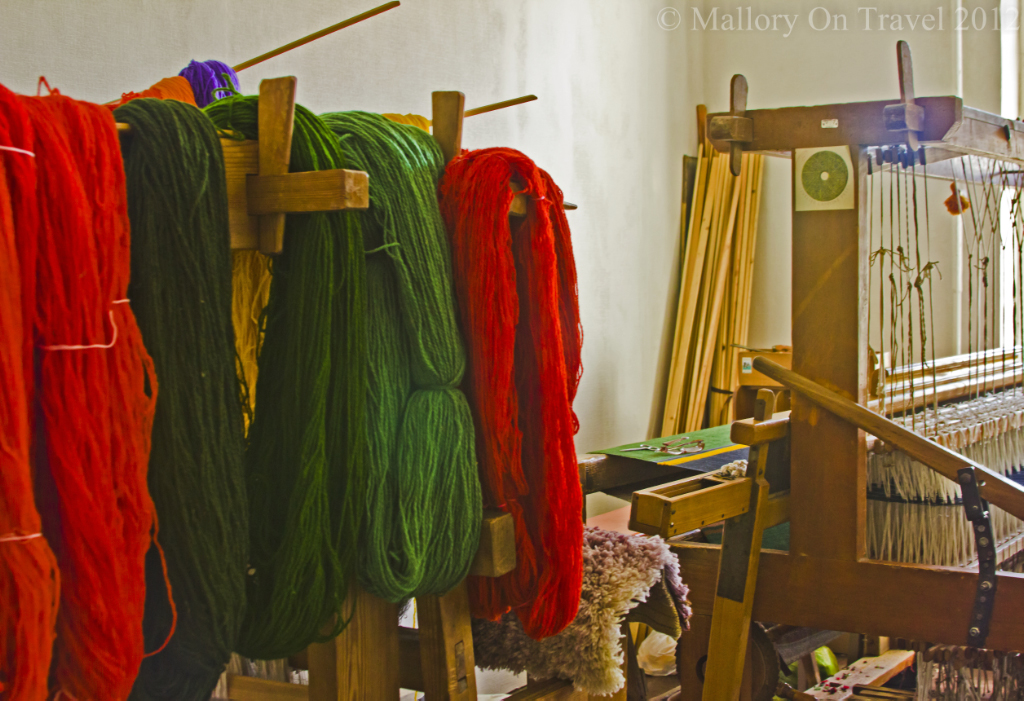 Artisans and craftsmens tools in the Latvian Baltic city of Liepaja on Mallory on Travel adventure photography