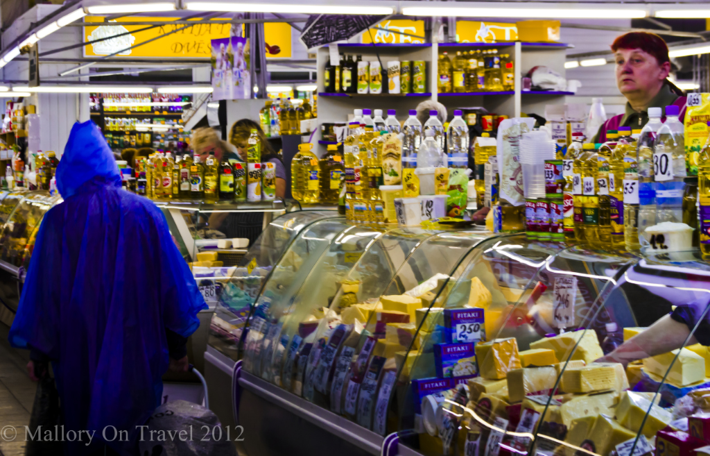 The Riga Central Market in Latvia's capital city on the Baltic coast on Mallory on Travel adventure photography