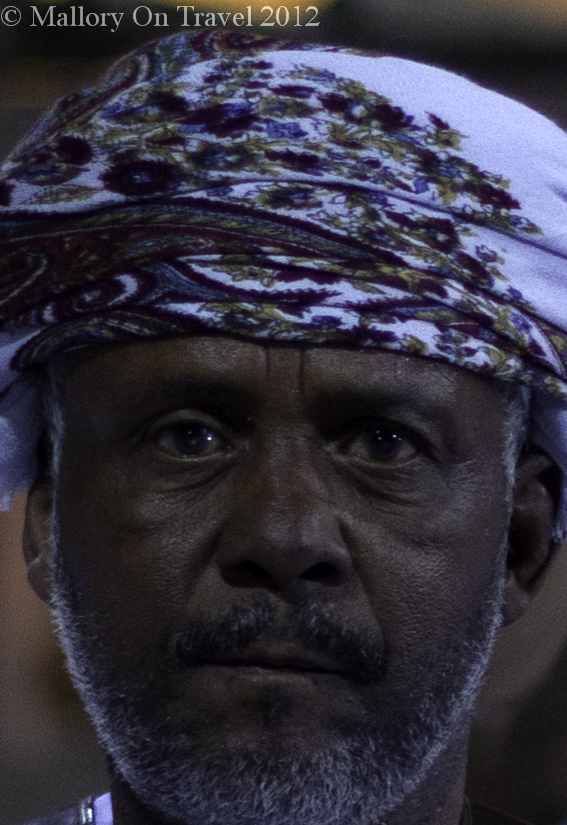 Muscian performing at the Muscat Festival in Oman on Mallory on Travel adventure photography