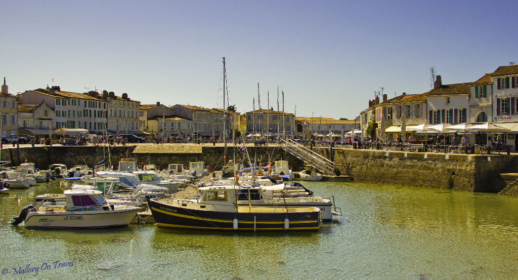Vessels moored in St Martin harbour on the French island of Île de Ré in the Charentes-Maritime region on mallory on Travel adventure photography
