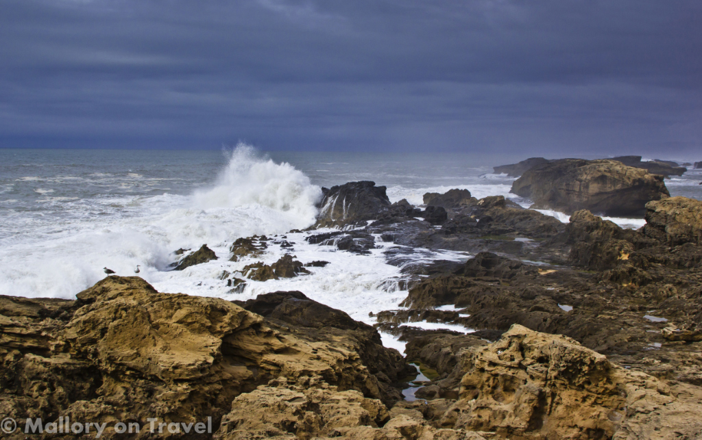 Essaouira on the Moroccan coast of the North African Atlantic ocean on Mallory on Travel adventure photography