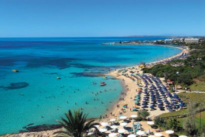 Ayia Napa on the Mediterranean Island of Cyprus on Mallory on Travel adventure photography