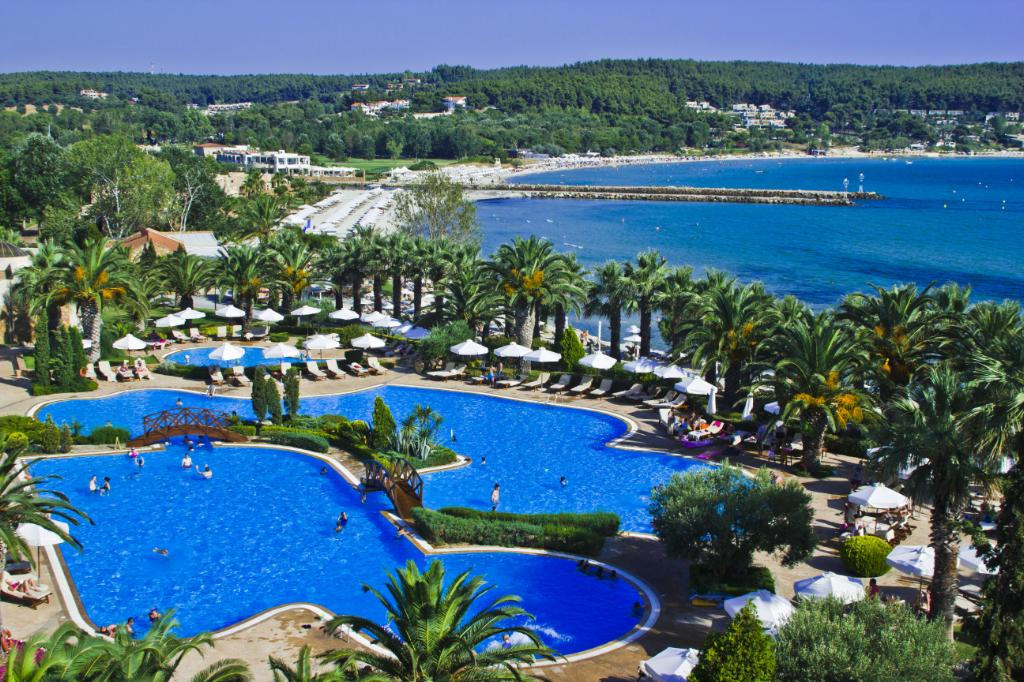 Sani Resort on the Kassandra peninsula Halkidiki, Greece on Mallory on Travel adventure photography