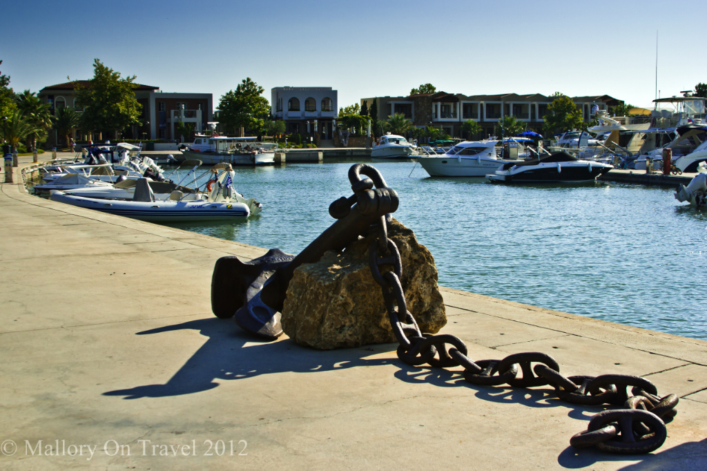 The Marina at the Sani Resort in Halkidiki, Greece on Mallory on Travel adventure photography