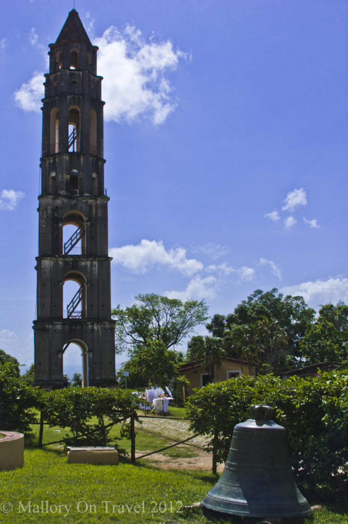 TheManacas Iznaga Tower sugar plantation and its bell Trinidad, Cuba on Mallory on Travel adventure photography