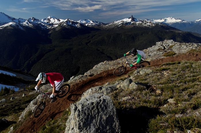 Mountain biking in Whistler, British Columbia in Canada on Mallory on Travel adventure photography