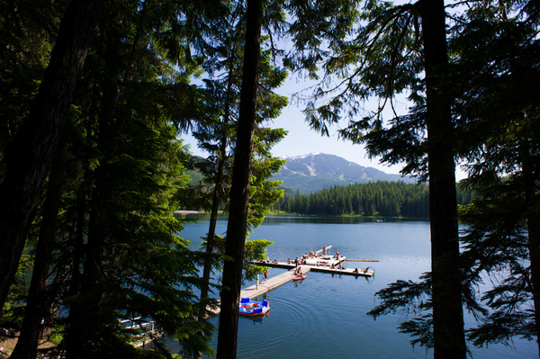 Lost Lake in Whistler, British Columbia in Canada on Mallory on Travel adventure photography