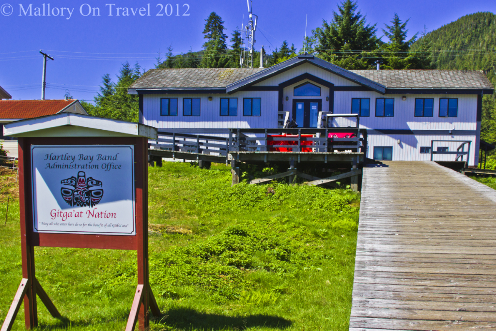 The Gitga' at First Nation people of Hartely Bay, British Columbia, Canada on Mallory on Travel adventure photography