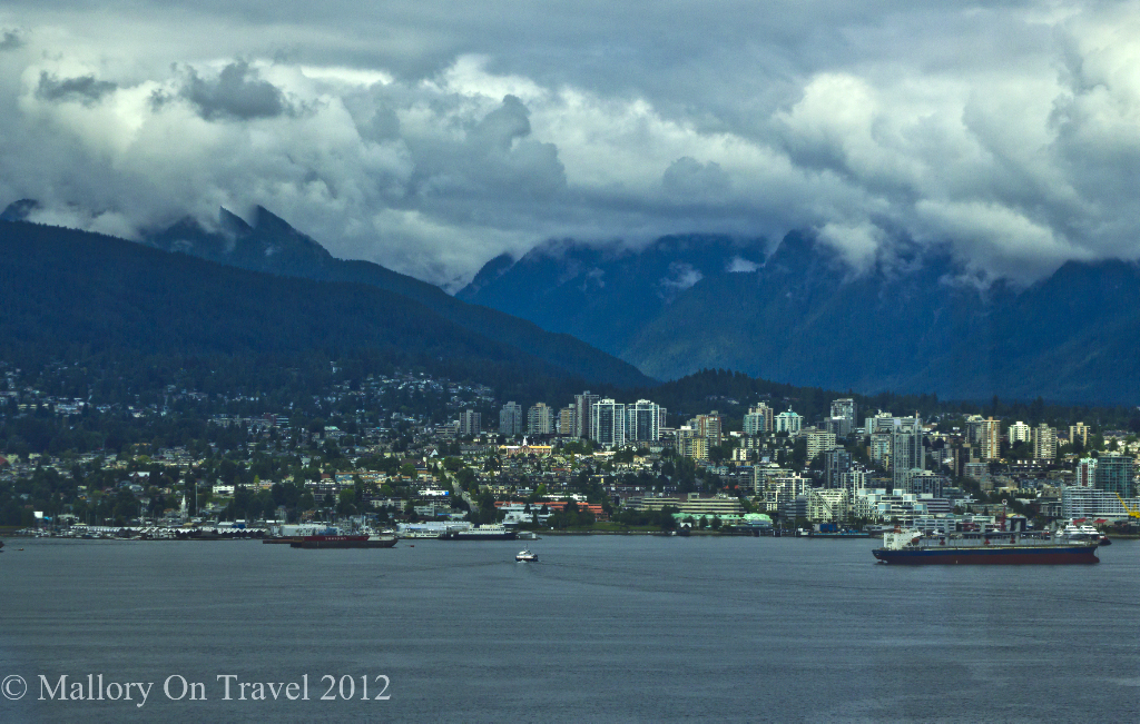 Vancouver harbour view from my Fairmont Pacific Rim hotel, Canada on Mallory on Travel adventure photography