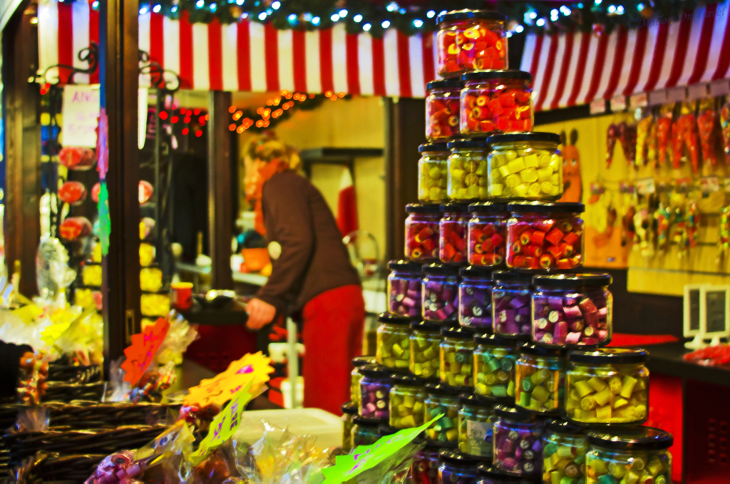 The treats at Cologne Christmas market Germany on Mallory on Travel adventure photography