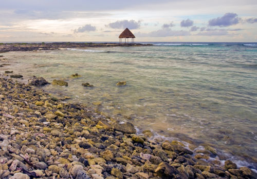 Caribbean Seascape Riviera Maya Coast, Mexico on Mallory on Travel adventure photography