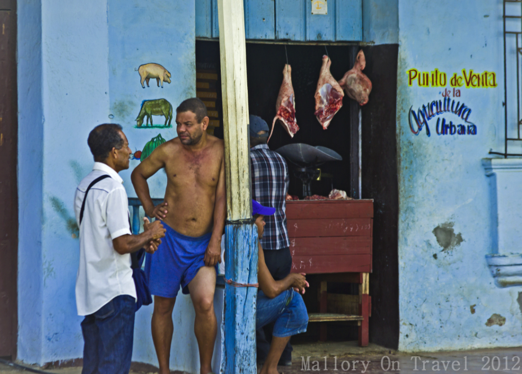 Ffood shopping in Baracoa, Cuba in the Caribbean on Mallory on Travel adventure photography