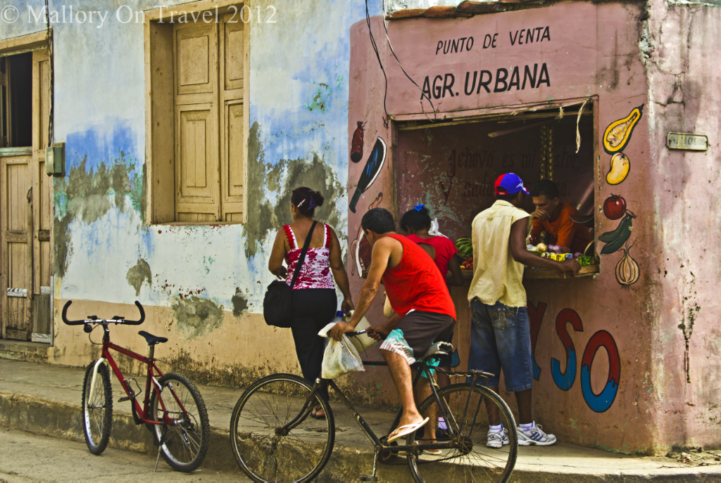 Shopping in Baracoa on the Caribbean island of Cuba  on Mallory on Travel adventure photography