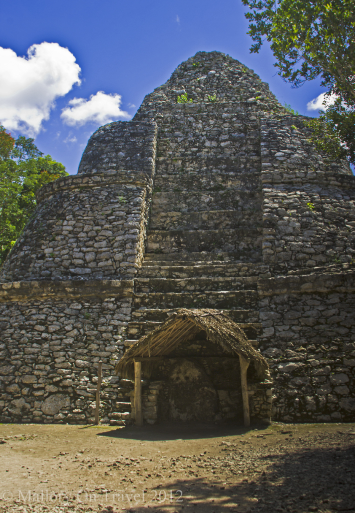 Pyramid at the archeological site of Cobá, near Riviera Maya, Mexico on Mallory on Travel adventure photography