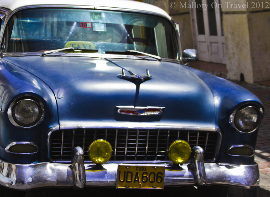 Classic grill in Havana on the Caribbean island of Cuba on Mallory on Travel adventure photography