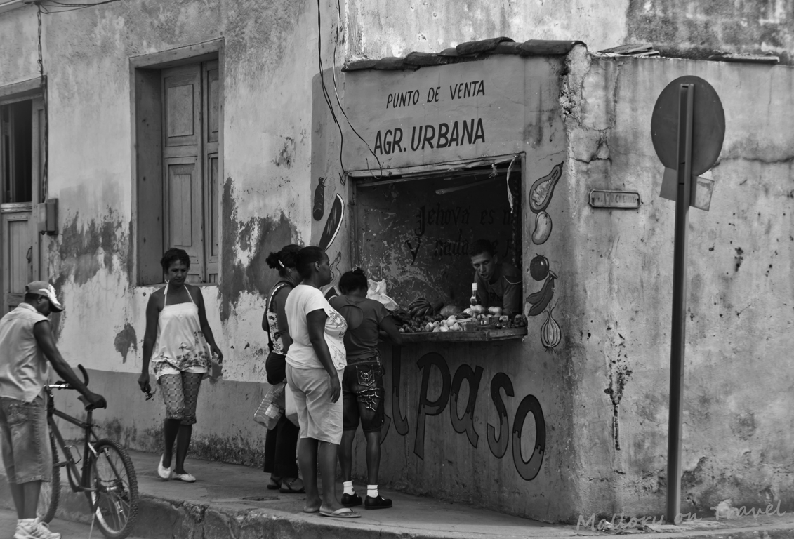 Retail therapy in Baracoa, the Cuba in the Caribbean Copyright © Mallory on Travel 2012