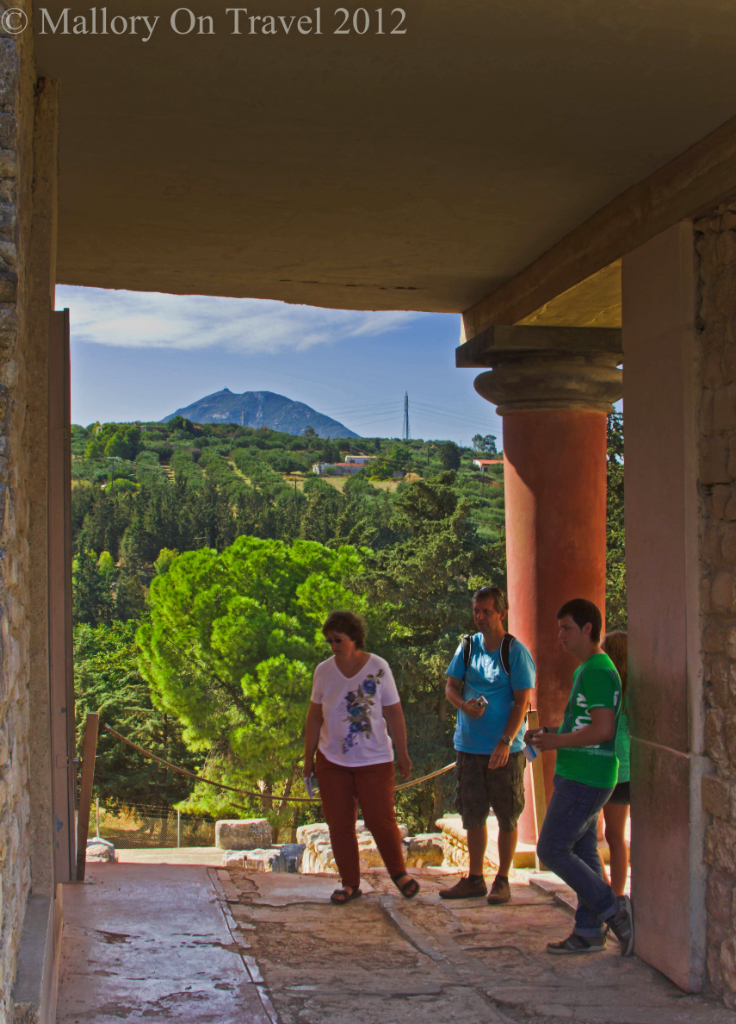 Knossos near Heraklion on the island of Crete, Greece on Mallory on Travel adventure photography