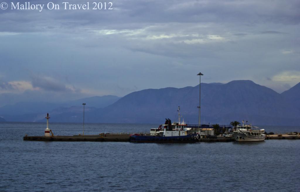 Agios Nikolaos harbour on the Greek island of Crete on Mallory on Travel adventure photography