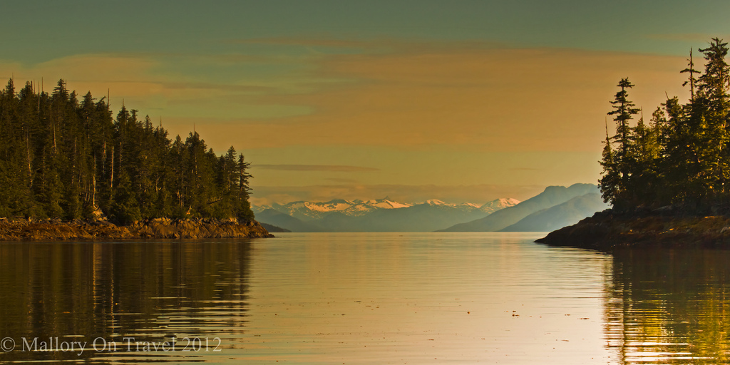 Sunsetting in the Great Bear Rainforest, British Columbia Canada on Mallory on Travel adventure photography Iain Mallory-300-13Iain Mallory-300-155