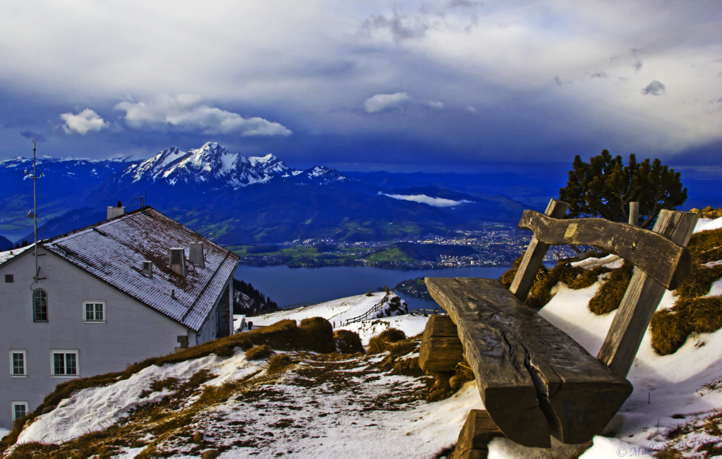 View from the summit of the Rigi Kulm near Lucerne, Switzerland on Mallory on Travel adventure photography Iain_Mallory_065033