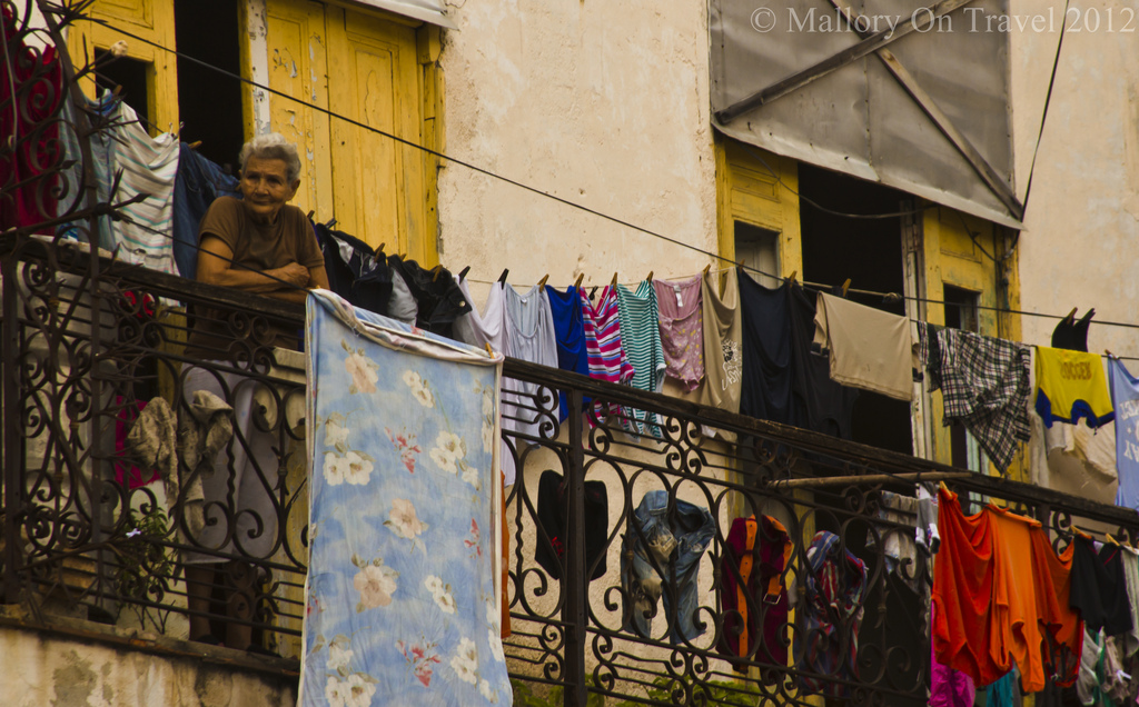 Relaxing after doing the laundry in Havana, Cuba in the Caribbean on Mallory on Travel adventure photography Iain Mallory-300-268