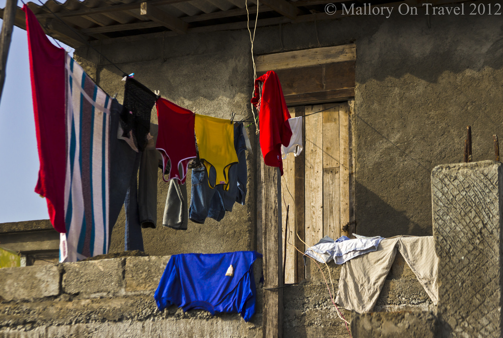 Washing lines make great photography subjects in Baracoa on the Caribbean island of Cuba on Mallory on Travel adventure photography Iain Mallory-300-252
