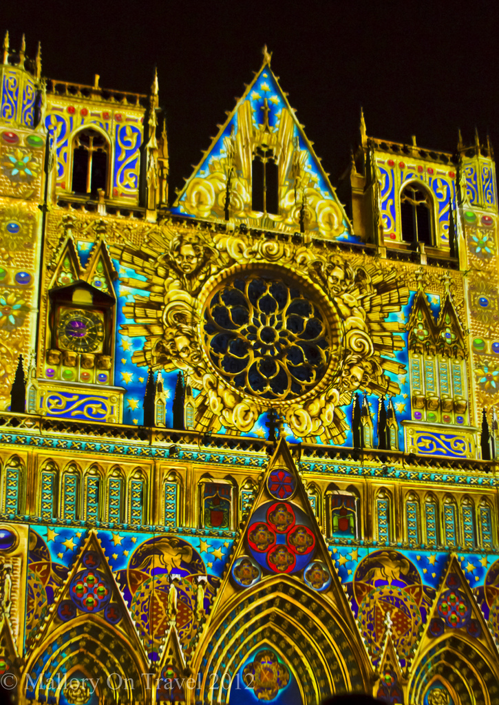 The Chameleon Cathedral Lyon Festival of Light in the Rhône Alpes region of France on Mallory on Travel adventure photography Iain Mallory-300-14