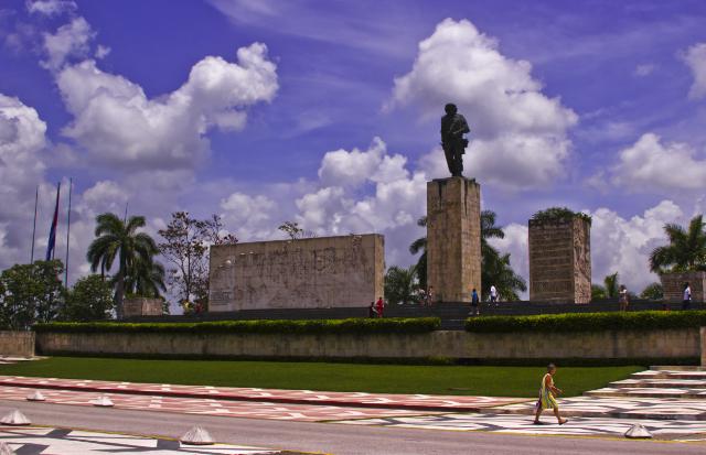 The official Che Guevara memorial at Santa Clara, Cuba  on Mallory on Travel adventure photography