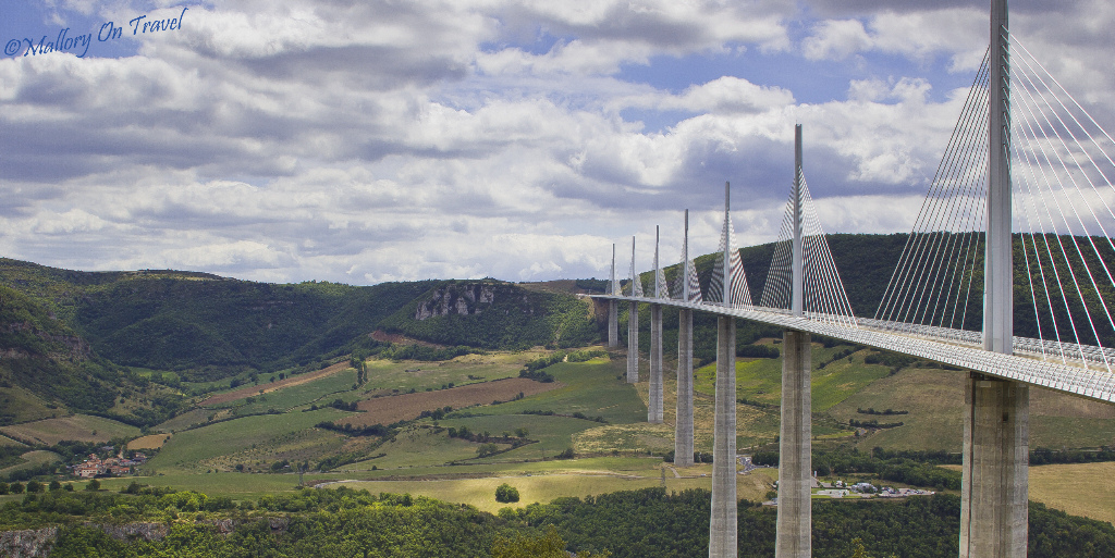 The Millau Viaduct in the French Aveyron photography and blogging tips on Mallory on Travel, adventure, adventure travel Iain_Mallory_00391