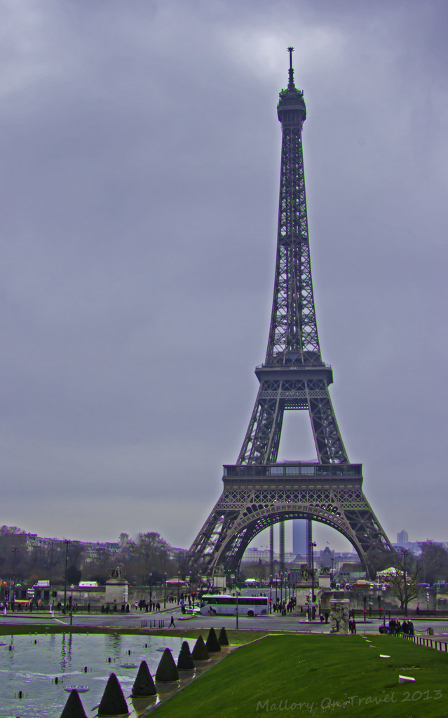 The Eiffel Tower on the banks of the River Seine in Paris, France on Mallory on Travel, adventure, photography Iain Mallory-300-5