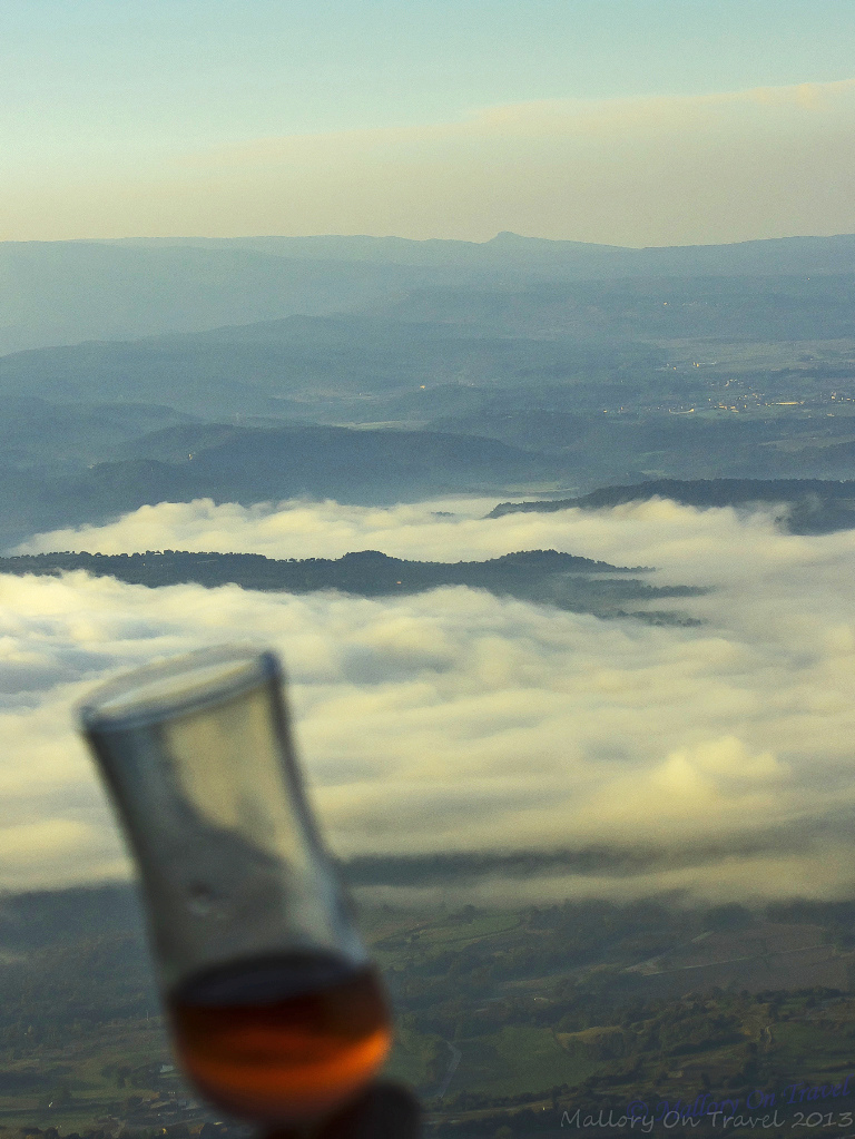 Romance and cava above the clouds in a hot air balloon in the La Garrotxa in the Catalan, Spain on Mallory on Travel, adventure, adventure travel, photography Iain Mallory-300