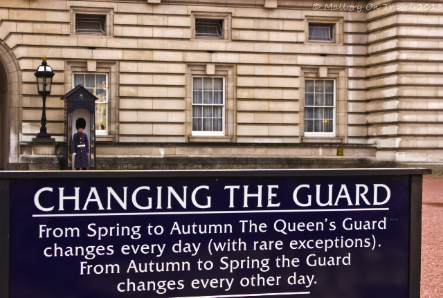 The guard at Buckingham Palace in London, in Great Britain on Mallory on Travel, adventure, adventure travel, photography Iain Mallory-300-66 buckingham-palace