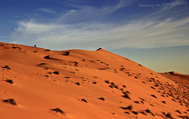 The romance of sand dunes in Wahiba Sands in Oman on Mallory on Travel, adventure, adventure travel, photography
