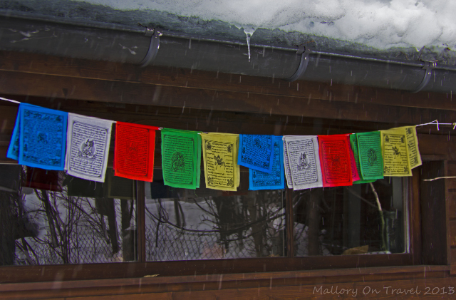 Colourful Tibetan prayer flags  in Chamonix in the Rhone Alpes region of France on Mallory on Travel, adventure, adventure travel, photography Iain Mallory-300-64 prayer_flags
