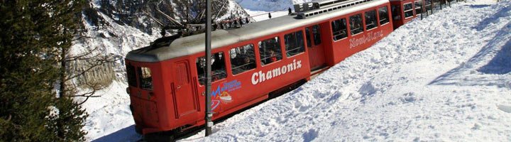 The Montenvers-Hiver train In Chamonix in the Rhone-Alpes region of France on Mallory on Travel, adventure, adventure travel, photography train-montenvers-hiver