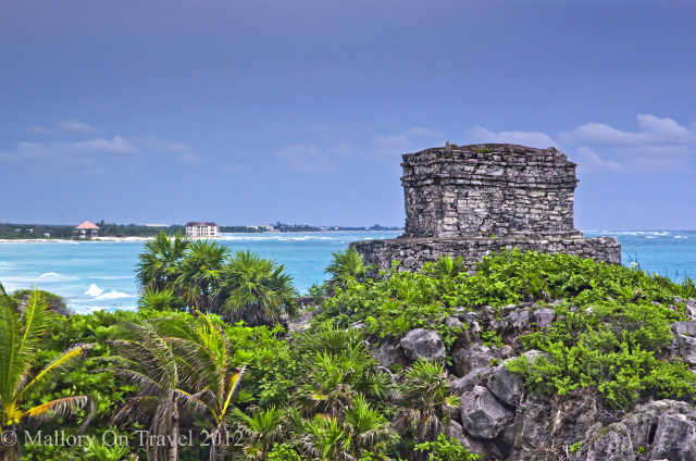 The Mayan ruins at Tulum above the Caribbean sea in the Riviera Maya, Mexico on Mallory on Travel, adventure, adventure travel, photography Iain Mallory-300-47 tulum