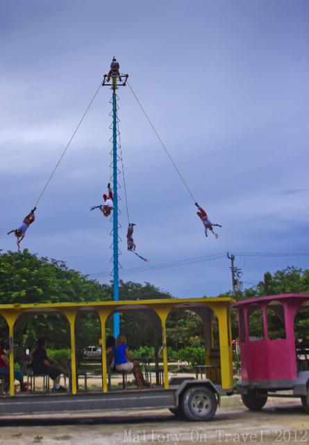 The Papantla Flyers at Tulum in Riviera Maya, Mexico on Mallory on Travel, adventure, adventure travel, photography Iain Mallory-300-54 papantla_flyers