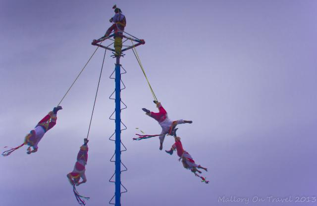 The Papantla Flyers at Tulum in Riviera Maya, Mexico on Mallory on Travel, adventure, adventure travel, photography Iain Mallory-300-64 papantla_flyers