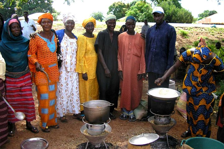 Responsible tourism in The Gambia, local people around a Mayan Turbo Stove project in the African country on Mallory on Travel, adventure, adventure travel, photography