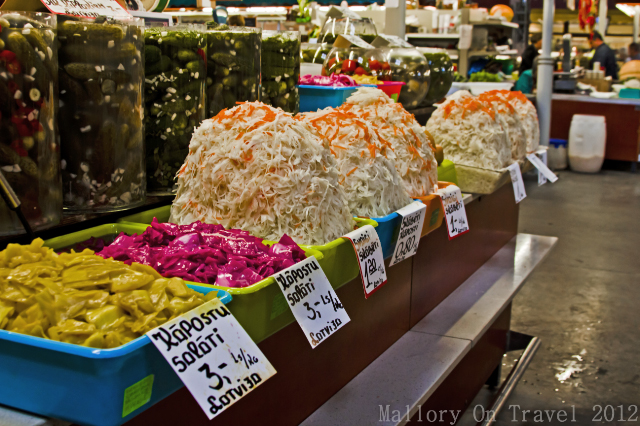 Not just fruit and vegetables in the central market in Riga capital city of Latvia one of the Baltic countries on Mallory on Travel, adventure, adventure travel, photography Iain Mallory-300-13