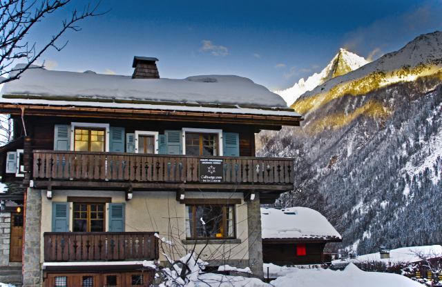 Chalet Les Mazots surrounded by mountains in Chamonix, France on Mallory on Travel, adventure, adventure travel, photography Iain Mallory-300-161