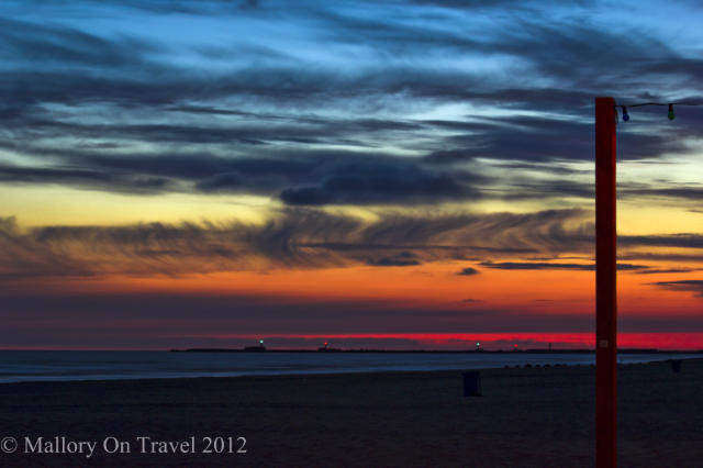 Sunset on the beach in Liepāja in the Baltic state of Latvia on Mallory on Travel, adventure, adventure travel, photography Iain Mallory-300-19-1-1 liepaja_latvia