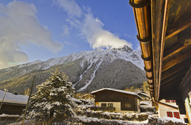 Chalet Les Mazots surrounded by mountains in Chamonix, France on Mallory on Travel, adventure, adventure travel, photography Iain Mallory-300-81