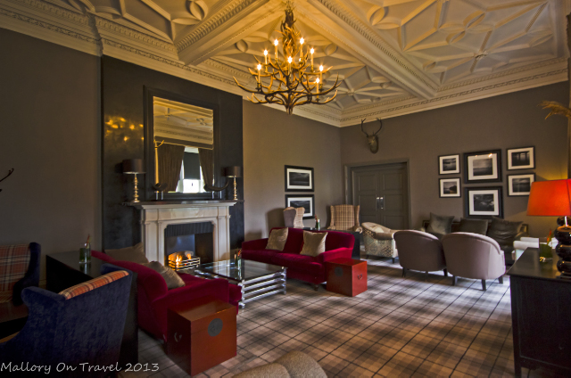 Community lounge of the Cameron House hotel, Loch Lomond in Glasgow, Scotland on Mallory on Travel, adventure, adventure travel, photography Iain Mallory-300-8 cameron_house