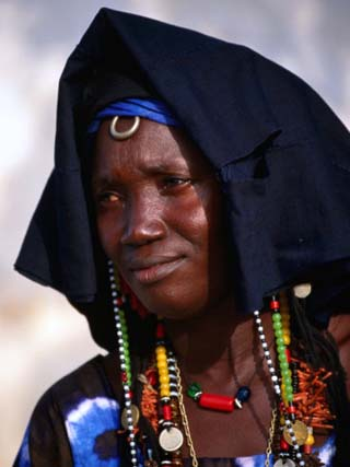Gambian woman in The Gambia on the African country on Mallory on Travel, adventure, adventure travel, photography
