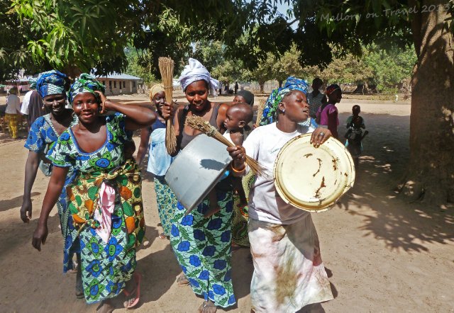 Women dances of the Jola village of Kanuma at a kumpo in The Gambia, west Africa on Mallory on Travel, adventure, adventure travel, photography Iain Mallory-1554